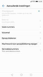 Huawei P8 Lite (2017) - voicemail - handmatig instellen - stap 6