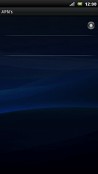 Sony Ericsson Xperia Arc - MMS - handmatig instellen - Stap 8
