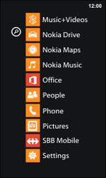 Nokia Lumia 800 / Lumia 900 - Internet and data roaming - Disabling data roaming - Step 3