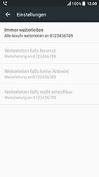 HTC U Play - Anrufe - Rufumleitungen setzen und löschen - Schritt 8