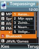 Samsung E250 - bluetooth - aanzetten - stap 5