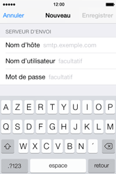 Apple iPhone 4S iOS 7 - E-mail - configuration manuelle - Étape 16