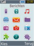 Samsung B2100 Xplorer - SMS - Handmatig instellen - Stap 3