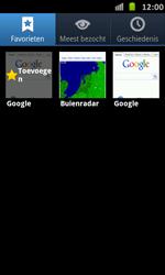 Samsung I9070 Galaxy S Advance - Internet - Internet gebruiken - Stap 11