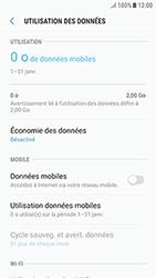 Samsung Galaxy J3 (2017) - Internet et roaming de données - Comment vérifier que la connexion des données est activée - Étape 6