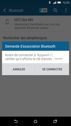 HTC One M9 - Bluetooth - Jumelage d