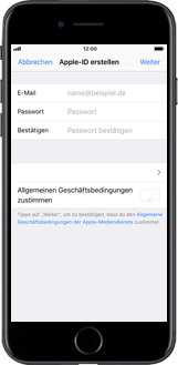Apple iPhone 6 Plus - Apps - Konto anlegen und einrichten - 7 / 26