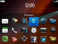 BlackBerry 9900 Bold Touch - Internet - hoe te internetten - Stap 2
