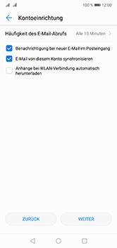 Huawei P20 Lite - E-Mail - Konto einrichten (yahoo) - Schritt 7