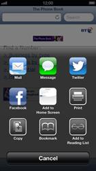 Apple iPhone 5 - Internet - Internet browsing - Step 9