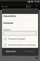 HTC A320e Desire C - WLAN - Manuelle Konfiguration - Schritt 7