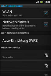 Sony Xperia Go - WLAN - Manuelle Konfiguration - Schritt 9