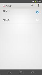 Sony Xperia Z1 Compact - Internet and data roaming - Manual configuration - Step 17