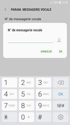 Samsung A520F Galaxy A5 (2017) - Android Nougat - Messagerie vocale - Configuration manuelle - Étape 9