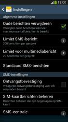 Samsung I9505 Galaxy S IV LTE - sms - handmatig instellen - stap 6