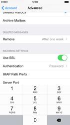 Apple iPhone 6 Plus - E-mail - Manual configuration IMAP without SMTP verification - Step 26