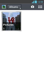 LG E430 Optimus L3 II - contacten, foto