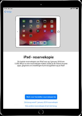 Apple ipad-pro-9-7-ios-12 - Instellingen aanpassen - Hoe gebruik ik de Automatisch inloggen-optie - Stap 14