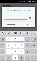 Huawei Y3 - Voicemail - Handmatig instellen - Stap 13