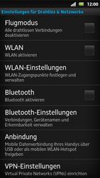 Sony Xperia Sola - WLAN - Manuelle Konfiguration - Schritt 5