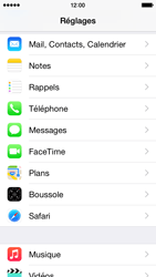 Apple iPhone 5s iOS 8 - E-mail - 032c. Email wizard - Outlook - Étape 4