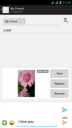 Wiko Rainbow - MMS - Sending pictures - Step 17