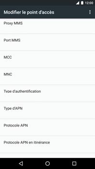 Huawei Nexus 6P - MMS - configuration manuelle - Étape 15