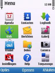 Nokia 6700 slide - internet - hoe te internetten - stap 2