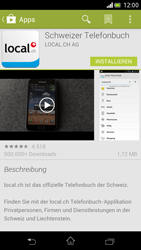 Sony Xperia V - Apps - Installieren von Apps - Schritt 8