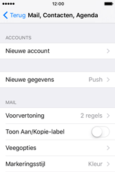 Apple iPhone 4S iOS 9 - E-mail - handmatig instellen - Stap 4