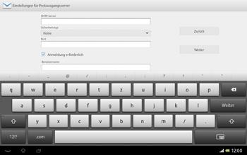 Sony Xperia Tablet Z LTE - E-Mail - Manuelle Konfiguration - Schritt 12