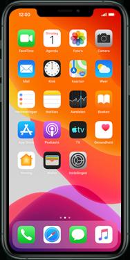 Apple iPhone XR - iOS 13 - Applicaties - Account instellen - Stap 1