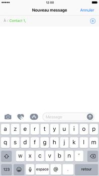Apple iPhone 7 Plus - Contact, Appels, SMS/MMS - Envoyer un SMS - Étape 6