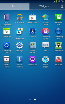 Samsung Galaxy Tab 3 8-0 LTE - Applications - How to check for app-updates - Step 3