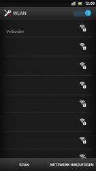 Sony Xperia S - WiFi - WiFi-Konfiguration - Schritt 8