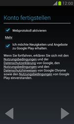 Samsung I8190 Galaxy S3 Mini - Apps - Konto anlegen und einrichten - Schritt 10