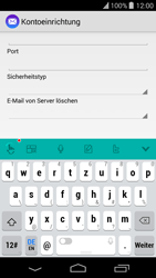 Wiko Highway Pure - E-Mail - Manuelle Konfiguration - Schritt 8
