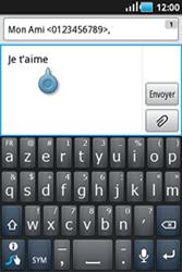 Samsung Galaxy Ace - Contact, Appels, SMS/MMS - Envoyer un MMS - Étape 7