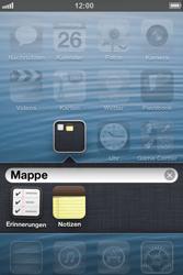 Apple iPhone 4S - Startanleitung - Personalisieren der Startseite - Schritt 7