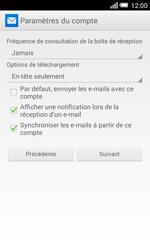 Alcatel OT-5050X Pop S3 - E-mails - Ajouter ou modifier un compte e-mail - Étape 19