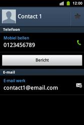 Samsung S5830i Galaxy Ace i - contacten, foto