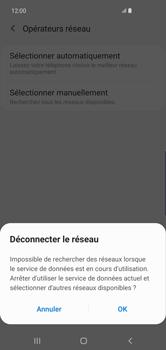 Samsung Galaxy S10 Plus - Réseau - Sélection manuelle du réseau - Étape 8