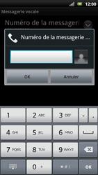 Sony Xperia Neo - Messagerie vocale - Configuration manuelle - Étape 7