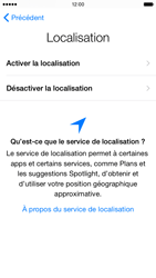 Apple iPhone 6 iOS 8 - Premiers pas - Créer un compte - Étape 10