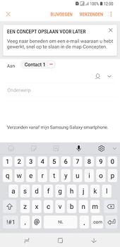 Samsung galaxy-a6-plus-sm-a605fn-ds - E-mail - Hoe te versturen - Stap 9