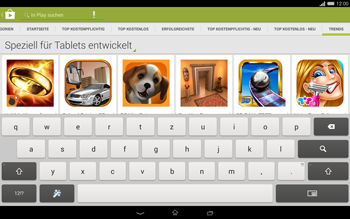 Sony Xperia Tablet Z2 LTE - Apps - Herunterladen - 14 / 20