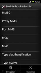 Sony Xperia J - Internet et roaming de données - Configuration manuelle - Étape 15