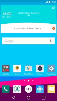 LG G4 - E-mails - Ajouter ou modifier votre compte Outlook - Étape 1