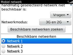 BlackBerry 9360 Curve - netwerk en bereik - gebruik in binnen- en buitenland - stap 8