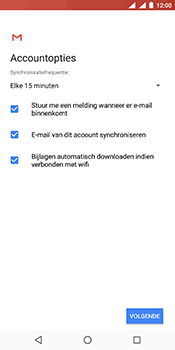 Nokia 7 Plus (Dual SIM) - E-mail - Account instellen (IMAP met SMTP-verificatie) - Stap 18